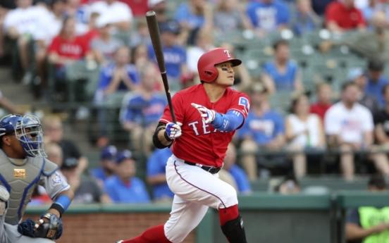 Rangers' Choo Shin-soo becomes top home run hitter from Asia
