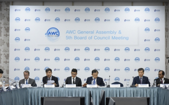 K-Water leads regional meeting on water problems