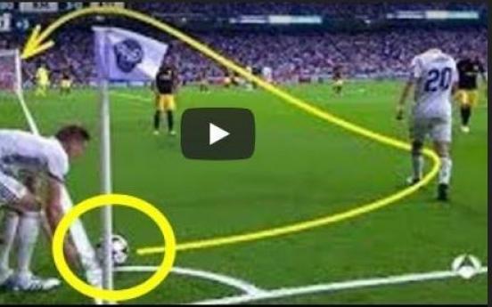 (영상) 월드컵 평가전 돌입...'신들린 코너킥'