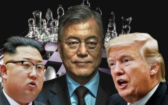 [US-NK Summit] No decision yet on whether Moon will travel to Singapore: official