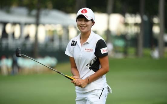 Korean Kim Hyo-joo's rally falls short at LPGA major
