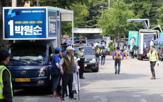 [2018 Local elections] Ire grows at campaign trucks' loud noise, illegal parking