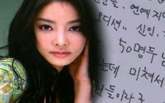Prosecution reopens Jang Ja-yeon sexual abuse case