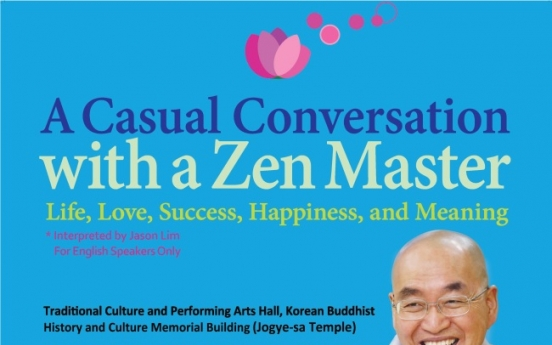 One-off Buddhist talk for English-speaking expat community