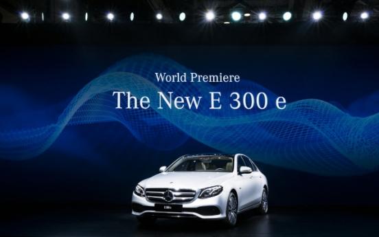 [Busan Motor Show] Benz premieres E 300 e, Audi vows to revive sales