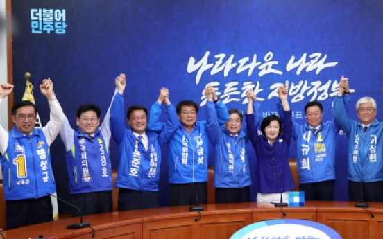 [Newsmaker] Ruling party enjoys sweeping lead in parliamentary by-elections