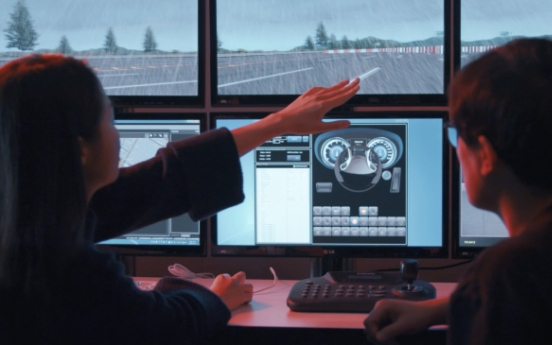 Hyundai Mobis invests W1.4b in self-driving software training