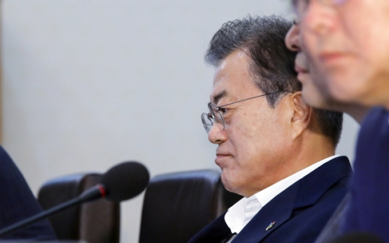 [US-NK Summit] Moon 'ardently hopes' for success of US-NK talks