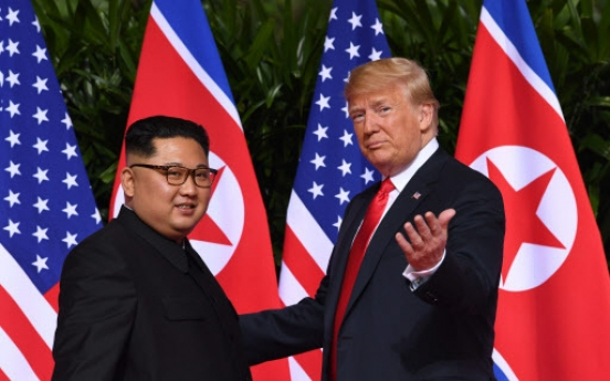 [US-NK Summit] Kim seen crafting image as Trump's equal, legitimate leader