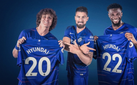 Hyundai signs partnership with EPL Chelsea FC