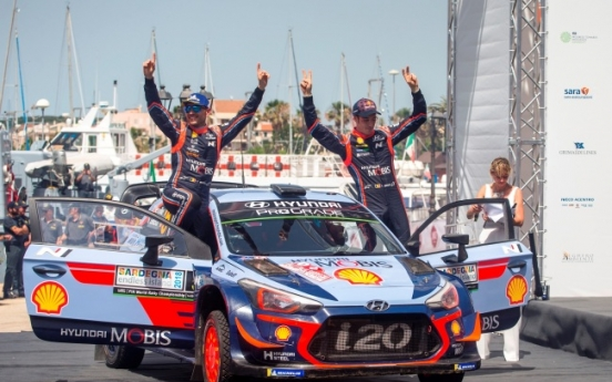 Hyundai flags eight wins at international motorsports competitions this year