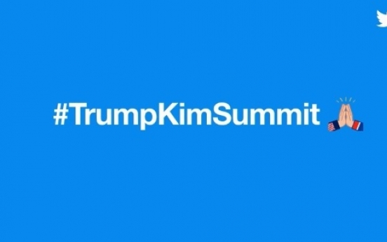 [US-NK Summit] Twitter launches 'high-five' emoji for US-North Korea summit, draws backlash