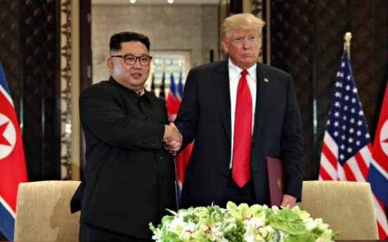 [US-NK Summit] Trump, Kim formed 'special bond' in historic meeting