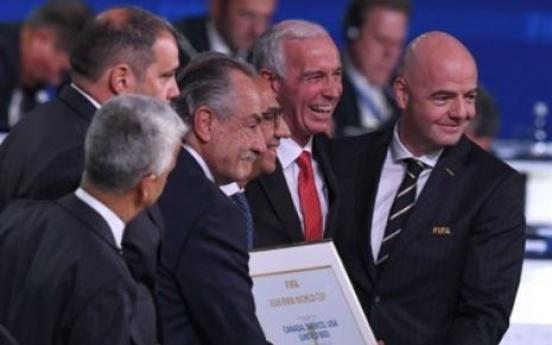 미국,멕시코,캐나다, 2026년 FIFA 월드컵 공동 개최