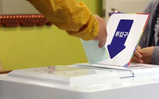 Elderly woman booked for ripping ballots