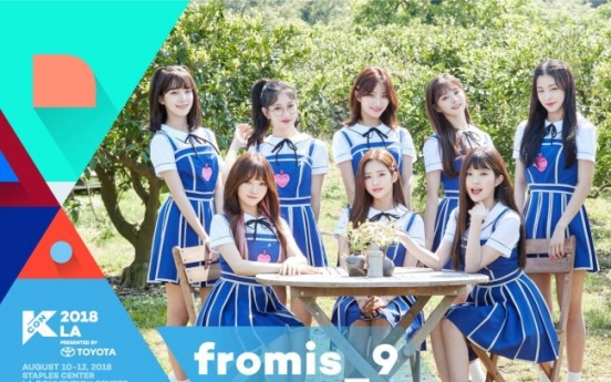 Seventeen, fromis_9, to perform at KCON 2018 LA