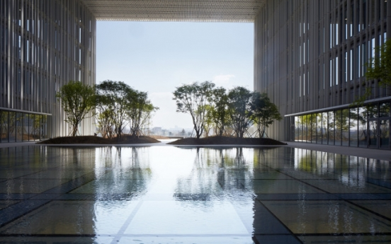 Amorepacific's new headquarters building aims to become gateway to central Seoul
