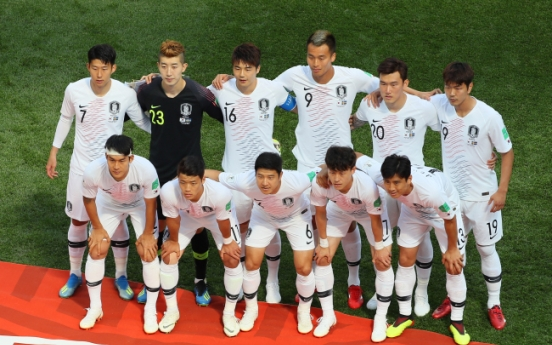 [World Cup] With towering striker upfront, S. Korea set to use back 4 vs. Sweden