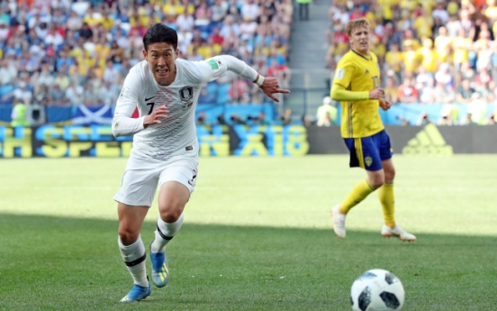 [World Cup] S. Korea, Sweden scoreless at halftime in Group F showdown