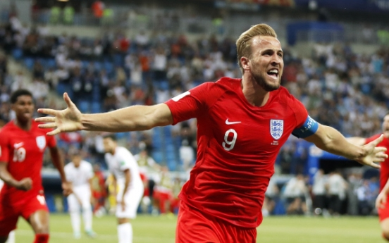 [World Cup] Late header from Kane gives England 2-1 win over Tunisia