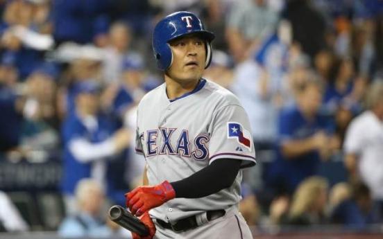 Rangers' Choo Shin-soo ties career high with 35-game on-base streak