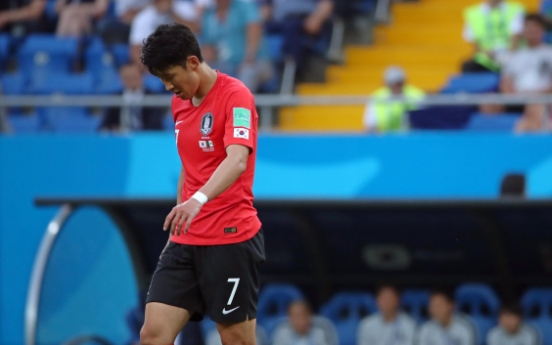 [World Cup] In tears, Son Heung-min vows to regroup for team's last group match