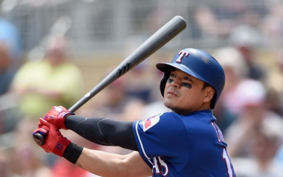 Rangers' Choo Shin-soo stretches on-base streak to career-high 36 games
