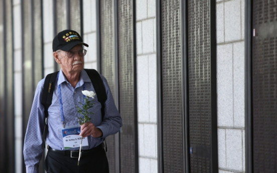 [Photo News] Korean War veterans visit Korea for anniversary