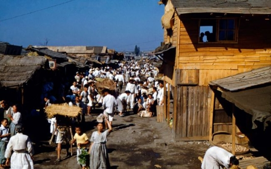 [Photo News] US soldier's photographs of Korea in 1950s