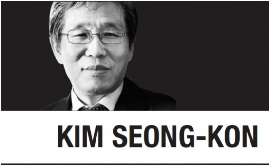 "[Kim Seong-kon] ""Freedom is not free."" Neither is peace or prosperity"