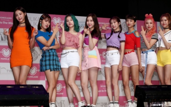 Momoland 'thankful' to have its name cleared on chart-rigging scandal