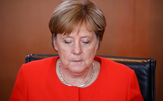 Merkel 'very sad' over Germany's World Cup loss to Korea