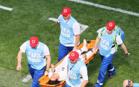 월드컵 부상선수에게 '칙칙이'...무슨 성분이길래?