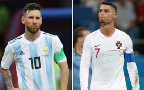 [월드컵] 메시도 없고 호날두도 없고…세기의 대결 무산