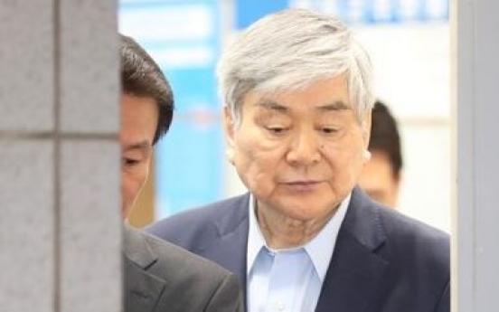조양호 한진 회장 구속영장…수백억 탈세·횡령혐의