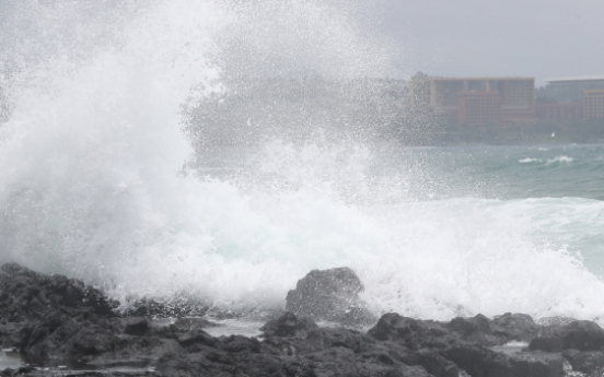1 dead, 1 missing as Typhoon Prapiroon approaches Korea