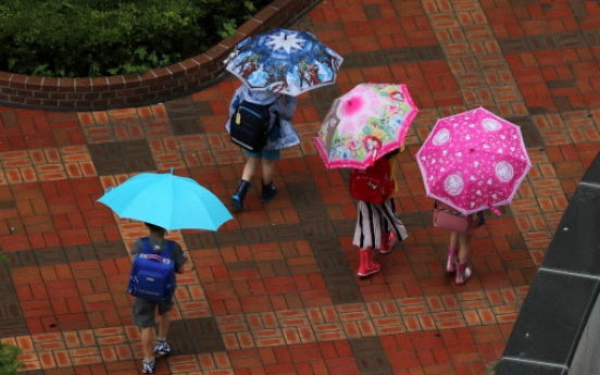 [Weather] Temperature cools down, rain to fall sporadically