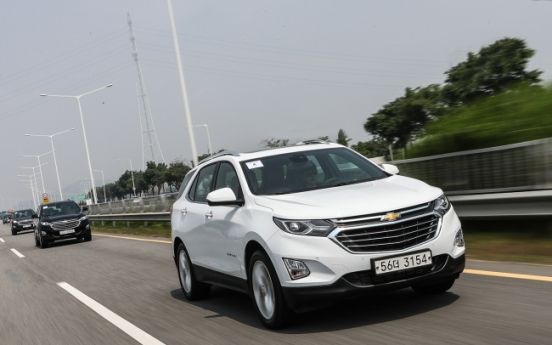 [Behind the Wheel] Chevy Equinox family SUV prioritizes stability, safety
