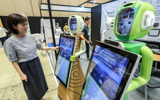 [Photo News] Artificial Intelligence Expo kicks off in Korea