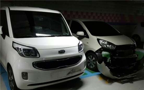 9-year-old drives mother's car in Daejeon