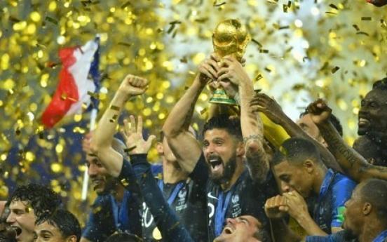 [월드컵] 프랑스-크로아티아, 결승전서 52년 만에 '6골 공방전'