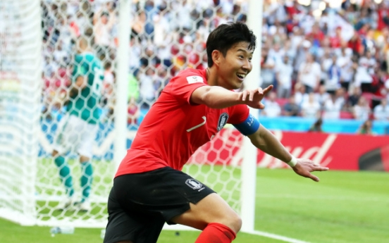 Son Heung-min headlines Korea's football roster for 2018 Asian Games