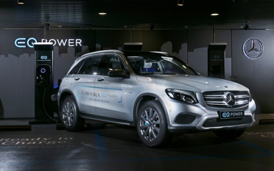 Mercedes-Benz Korea releases EV charger with KT