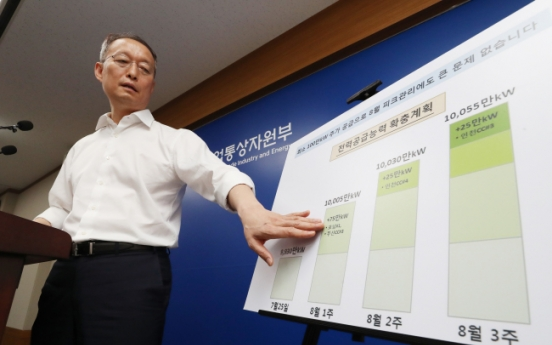 S. Korea's electricity supply to stabilize from Friday: ministry