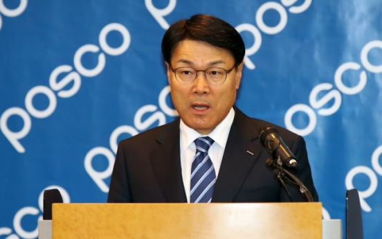 "New Posco chairman envisions ""With Posco"""