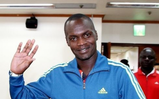 Kenyan-born marathoner acquires S. Korean citizenship, ineligible for Tokyo 2020