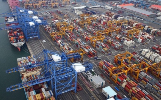 S. Korean exports little affected by demand from advanced nations: report