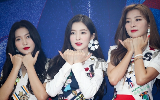 Red Velvet says its new single 'Power Up' will power fans up