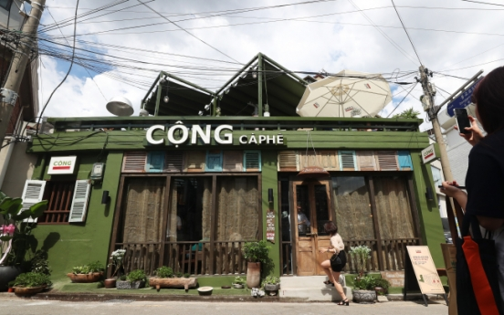 [Photo News] Have a sip of Vietnam in Seoul at Cong Caphe