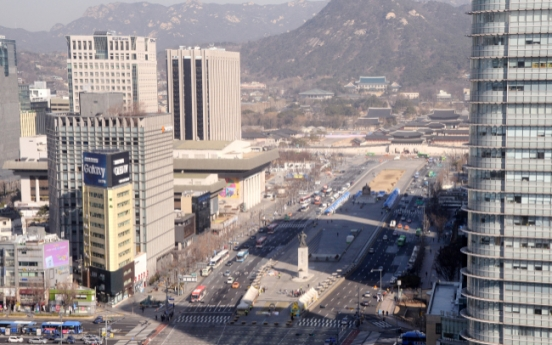 More bike lanes, toxicity charge: Central Seoul area to restrict traffic volume by 30 percent by 2030